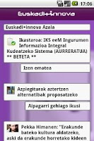 Screenshot of Euskadinnova.eu