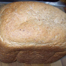 Whole Wheat, Flax & Honey Bread Machine Bread