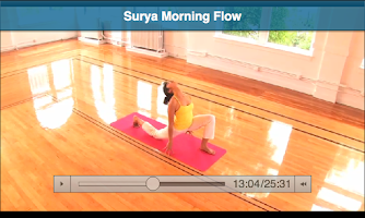 Screenshot of My Yoga Online
