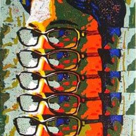 self vision by Kiran Gunjkar - Painting All Painting
