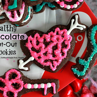 Healthy Chocolate Cut-Out Cookies