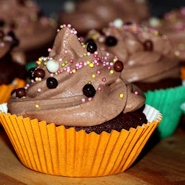 Homemade Cupcakes by Patrizia Sapia - Food & Drink Cooking & Baking ( dolci, cibo, dessert,  )