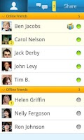 Screenshot of Ftalk: Chat on the go