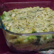 Penne With Chicken & Broccoli Casserole