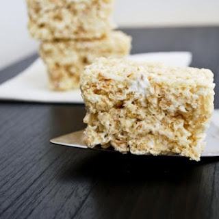 Coconut Rice Krispy Treats