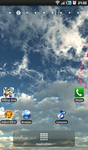 Lightning Free LWP - screenshot