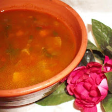 North African Soup (Vegetarian)