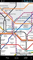 Screenshot of London Tube and Rail Map Free