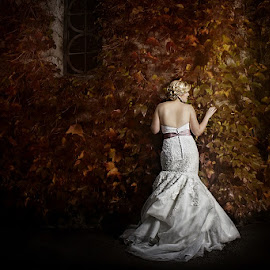 Autumn fairy tale by Ivana  Todorovic - Wedding Bride ( autumn, prewedding, wedding, bride )