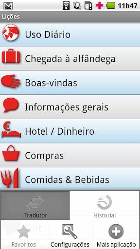 Portuguese - English USA
