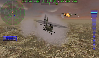 Screenshot of Apache Chopper Pilot 3D HD