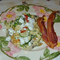Barb's Feta Cheese Scramble