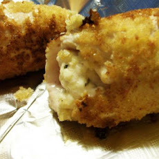Herb and Cream Cheese Stuffed Chicken Breasts