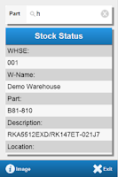 Screenshot of DSPro Stock Status