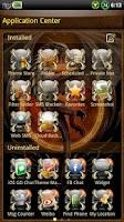 Screenshot of Dragon GO SMS Theme