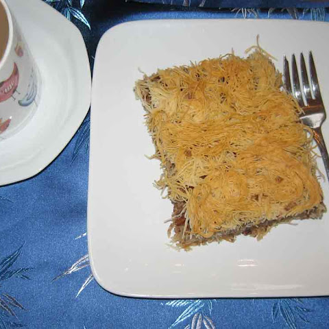 Kataifi with Walnuts