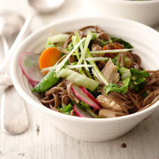 Soba Noodle Salad With Spring Vegetables
