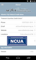 Screenshot of Atlantic City FCU