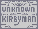 Thumbnail of the map 'UnknownKirbyMan'
