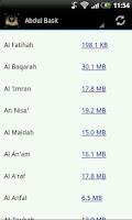 Screenshot of Ultimate Quran MP3