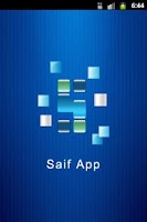 Screenshot of SaifApp