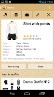 Screenshot of Clamotty: Your Fashion Stylist