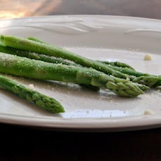 Asparagus With Butter and Parmesan Cheese