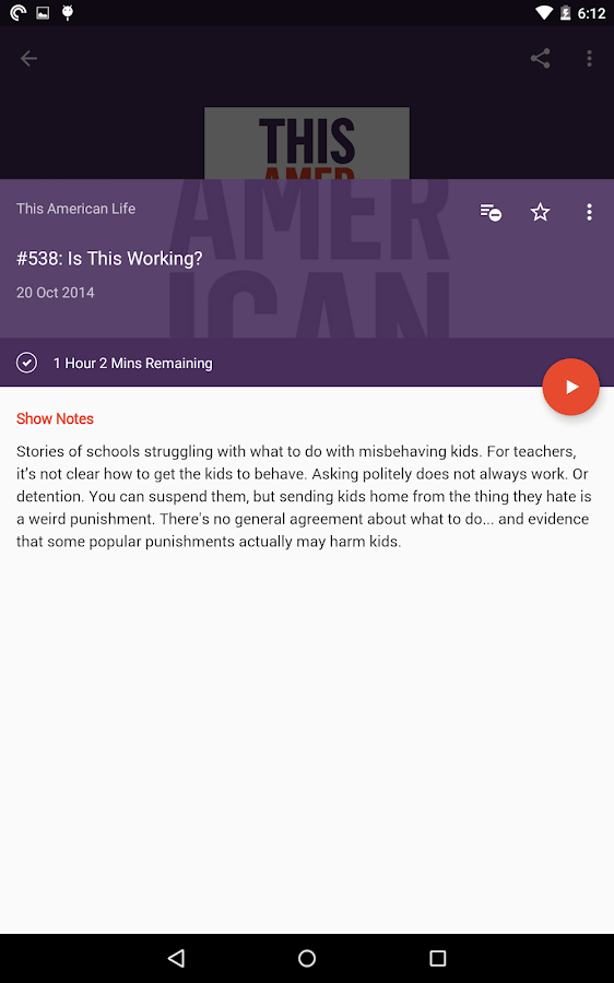 Pocket Casts Screenshot 14