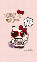 Screenshot of mimo.×HELLO KITTY LWallpaper