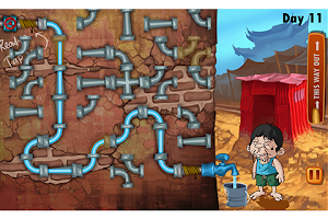 Screenshot of Slumdog Plumber & Pipes Puzzle