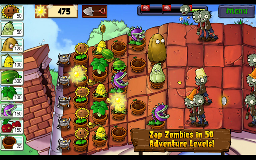 download plants versus zombie free mod apk