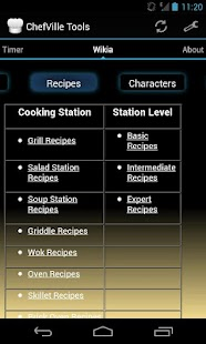 Chefville Tools - screenshot