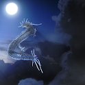 Blue Dragon Cloud icon