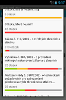 Screenshot of Zbrojní průkaz