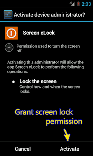 Screen cLock - screenshot