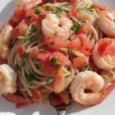 Chili Prawn and Tomato Spaghetti