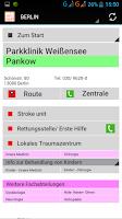 Screenshot of Krankenhaussuche-Berlin