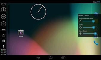 Screenshot of SidebarTouch