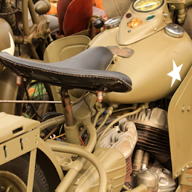special by Aaron Stephenson - Transportation Motorcycles ( ww2, army, genuine, vintage, nice, us, restored )