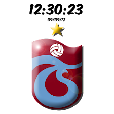 Digital Clock Trabzonspor