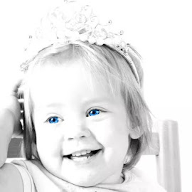 little princess by Tineke Konig - Babies & Children Toddlers ( black and white, beautifull, todler, innocence, baby )