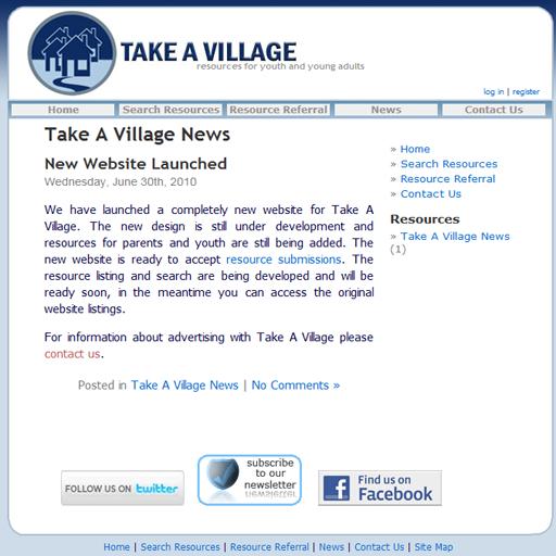Take a Village App LOGO-APP點子