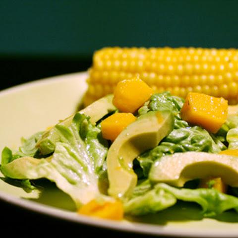 Crab, Mango, and Avocado Salad with Citrus Dressing Recept | Yummly