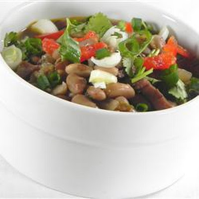 Pork and Pinto Bean Soup