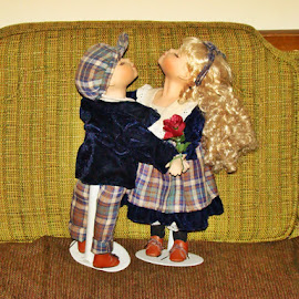 The Kissing Dolls 2 by Yvonne Collins - Artistic Objects Toys