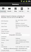 Screenshot of RSOE EDIS Notifier Lite