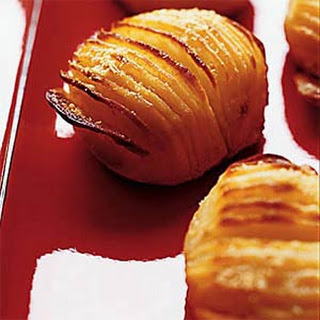 Baked Hasselback Potatoes