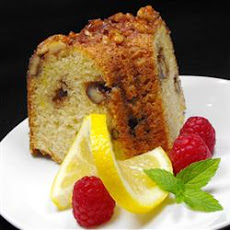 Nutty Lemon Coffee Cake