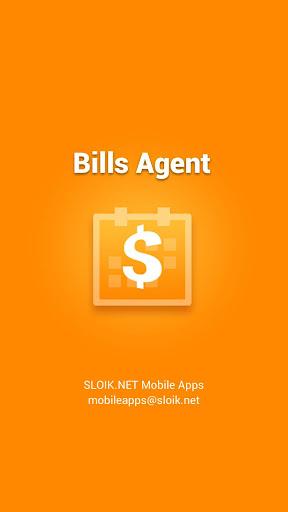 Bills Agent and Reminder - screenshot