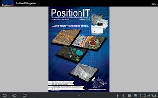 Screenshot of PositionIT Magazine